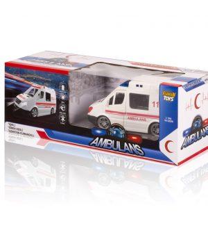 Uzaktan Kumandalı Sirenli Işıklı Ambulans