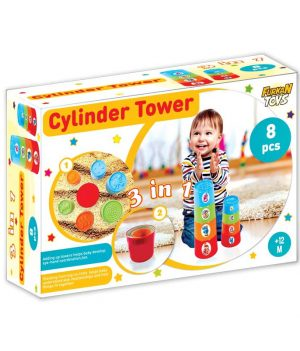 3 in 1 Silindir Kule