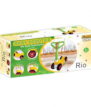 Baby Rio 4 Teker Scooter