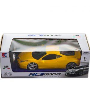 1:16 Uzaktan Kumandalı RC Model Işıklı Spor Araba