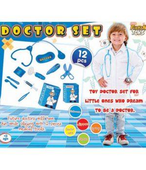 Işıklı Erkek Doktor Seti