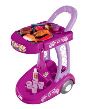 Winx Arabalı Barbekü Seti