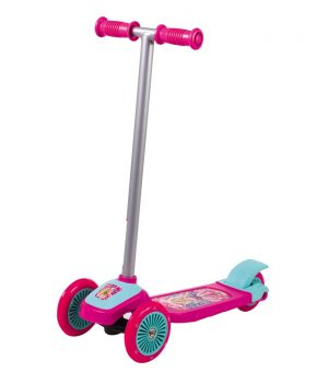 Barbie 3 Tekerli Frenli Scooter