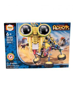 389 Parça Motorlu Robot Seri