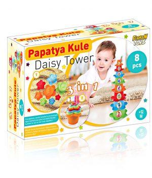 3 in 1 Papatya Kule
