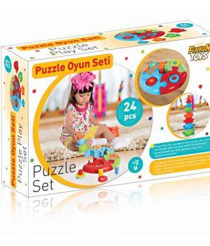 Puzzle Oyun Seti Kutulu