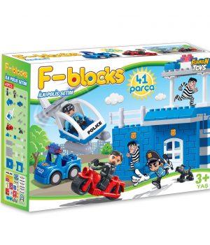 F-BLOCKS İLK POLİS SETİM 41 PCS