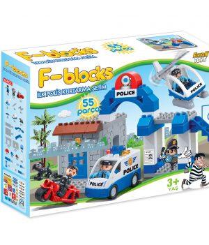 F-BLOCKS İLK POLİS KURTARMA SETİM 55 PCS