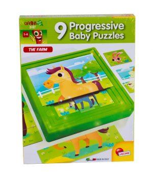 9'lu Puzzle Hayvanlar