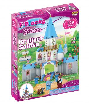 F-BLOCKS 529 PCS KRALİYET ŞATOSU