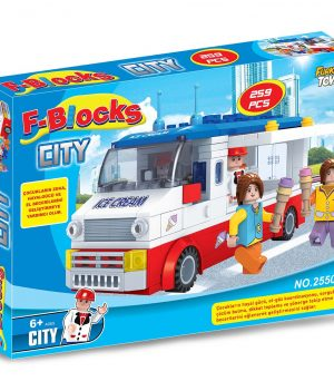 F-BLOCKS CITY SERİ 259 PCS