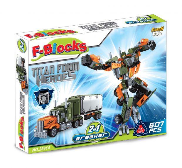 F-BLOCKS HEROES SERİ 607 PCS