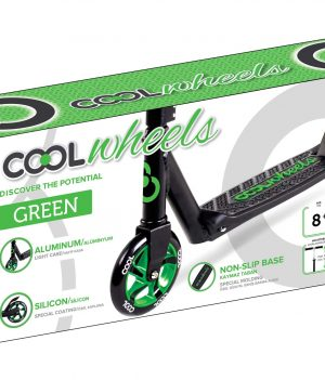 COOL WHEELS SCOOTER 8+ GREEN