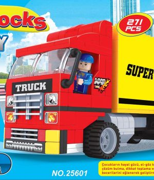 F-BLOCKS CITY SERİ 271 PCS