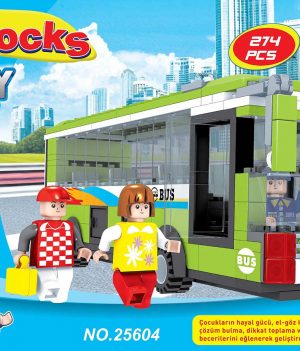 F-BLOCKS CITY SERİ 274 PCS