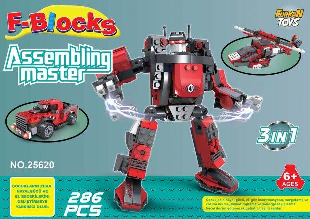 F-BLOCKS MASTER SERİ 286 PCS