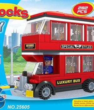 F-BLOCKS CITY SERİ 282 PCS