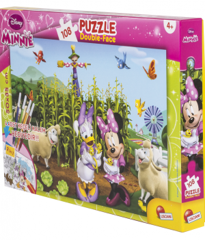 MINNIE 108  PCS KALEMLİ PUZZLE
