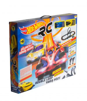 HOTWHEELS DOUBLE LOOP YARIŞ PİSTİ