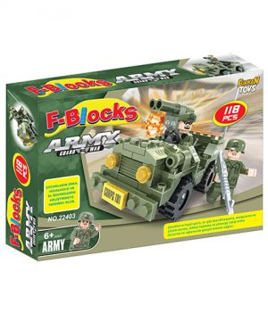 F-BLOCKS ASKER SERİ 118 PCS