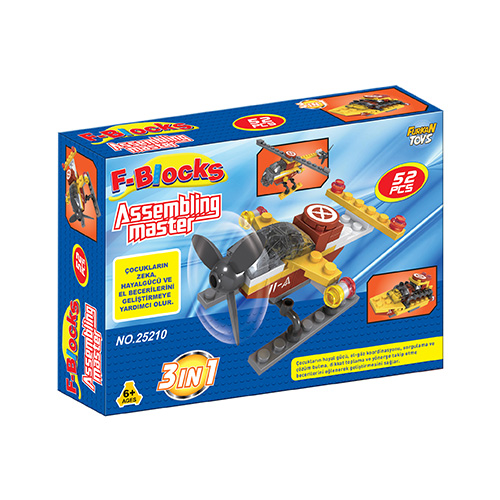 F-BLOCKS MASTER SERİ 52 PCS