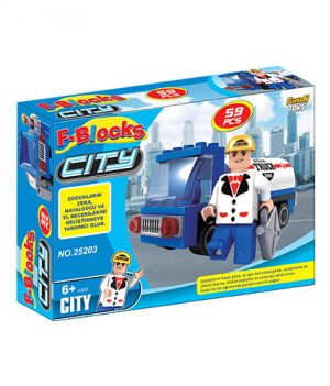 F-BLOCKS CITY SERİ 59 PCS