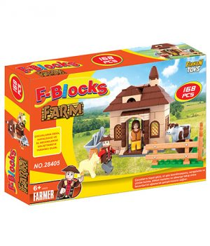 F-BLOCKS ÇİFTLİK SERİ 168 PCS