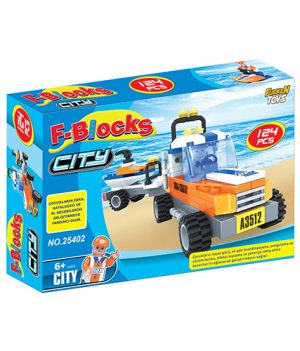 F-BLOCKS CITY SERİ 124 PCS