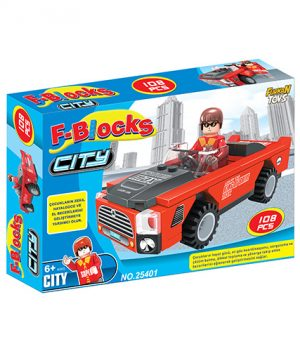 F-BLOCKS CITY SERİ 108 PCS